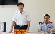 Tổng thanh tra Lê Minh Khái: 'Phải thực hiện tốt việc tiếp dân hằng ngày'