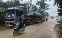 Tìm mọi cách tiếp cận thủy điện Rào Trăng 3 giữa mưa lớn dồn dập