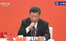 Chủ tịch Tập Cận Bình ho liên tục khi phát biểu ở Thâm Quyến