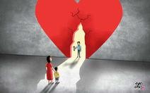 Sau ly hôn, khép con tim lại hay tiếp tục 'mở lòng'?