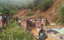 Đã tìm được 5 thi thể gia đình 6 người bị núi lở vùi lấp ở Quảng Trị