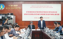 Các cơ quan ngoại giao cam kết hỗ trợ người dân miền Trung