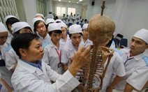 Nhiều đại học xét tuyển bổ sung nhóm ngành sức khỏe