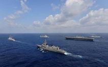 Úc trở lại tập trận hải quân cùng Mỹ, Nhật Bản, Ấn Độ