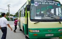 Xe buýt liên tỉnh tố bị làm khó khi chạy qua tỉnh khác