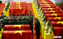 Lễ truy điệu 22 chiến sĩ Đoàn Kinh tế quốc phòng 337: Tiễn các anh về với quê nhà