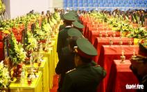 Lễ viếng và truy điệu 22 chiến sĩ Đoàn Kinh tế quốc phòng 337 tại Quảng Trị sáng nay