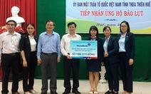 VietinBank dành hơn 15 tỉ đồng hỗ trợ đồng bào miền Trung bị lũ lụt