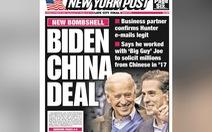 Làm ăn ở Trung Quốc: 'Ông lớn' được chia phần chính là Joe Biden
