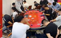 Phá sòng poker có người nước ngoài tham gia ở quận 2