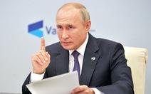 Ông Putin: Mỹ, Nga đã hết thời, Trung Quốc sẽ làm 'anh cả của thế giới'