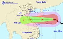 Bão số 8 chỉ cách Hoàng Sa 230km, gió giật cấp 15
