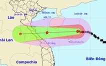 Chiều nay bão số 8 cách Hoàng Sa 110km, gió giật cấp 12