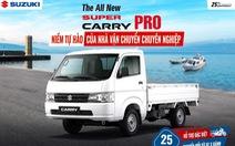 Suzuki tung khuyến mãi đặc biệt cho xe tải nhẹ