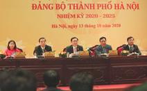 Phân công ủy viên Ban thường vụ Thành ủy Hà Nội, nhiều lãnh đạo đảm nhận nhiệm vụ mới