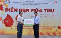 ĐH Công nghiệp thực phẩm TP.HCM ủng hộ 200 triệu đồng cho đồng bào miền Trung