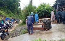 Quảng Nam, Quảng Ngãi: Sẵn sàng sơ tán dân khỏi khu vực sạt lở trước bão số 9
