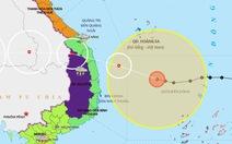 22h ngày 27-10, bão số 9 cách Phú Yên 286 km, giật cấp 17