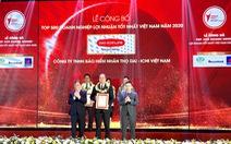 """Dai-ichi Life Việt Nam được vinh danh """"Top 500 doanh nghiệp lợi nhuận tốt nhất VN năm 2020"""""""