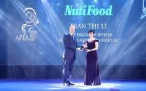 Nutifood lập 'Hat-trick' với 3 giải thưởng về doanh nghiệp và lãnh đạo xuất sắc châu Á
