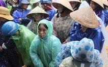 Quảng Trị: nước sông Thạch Hãn có thế lên dưới mức báo động 3 trong đêm nay