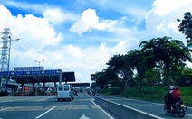 Dự án mở rộng xa lộ Hà Nội dời thu phí, dự kiến đến 1-12