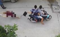 Bắt 2 nghi phạm cướp túi xách khiến người phụ nữ đập đầu xuống đường