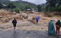 Thêm một vụ lở núi ở Quảng Nam, 11 người mất tích tại Phước Sơn