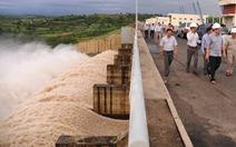 Thủy điện Sông Ba Hạ xả lũ 2.000m3/s