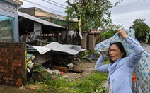 Quảng Ngãi tan hoang, xóm làng xơ xác sau bão số 9