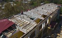 Tan hoang những ngôi trường ở tâm bão Quảng Ngãi