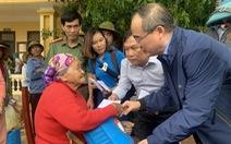 Ông Nguyễn Thiện Nhân thăm, hỗ trợ đồng bào bị thiệt hại do bão, lũ tại Quảng Bình