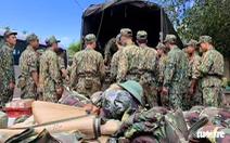 Sạt lở ở Quảng Nam: Đưa ra hơn 10 thi thể, còn 30 người mất tích