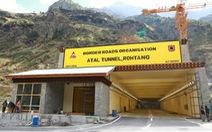Ấn Độ khánh thành đường hầm rút ngắn đường tới biên giới với Trung Quốc