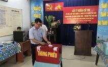 Người dân TP.HCM đi bỏ phiếu về việc thành lập TP Thủ Đức