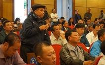 Lãnh đạo Hà Nội gặp dân Sóc Sơn về chuyện khu xử lý rác
