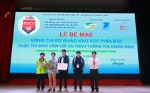 10 đại diện Việt Nam thi đấu an toàn thông tin với 6 nước ASEAN