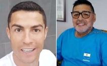 Maradona mừng thọ tuổi 60, Ronaldo chúc: 'Ông là số 1 nhưng... sau Bicho'