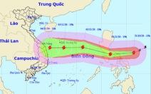 Ngày 2-11 siêu bão Goni vào Biển Đông, tâm bão cách Hoàng Sa 470km