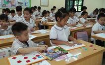 Chương trình lớp 1 mới: Không giao bài về nhà, giúp học sinh hoàn thành bài ngay tại lớp