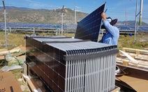 Khan hiếm tấm pin điện mặt trời
