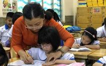 'Giáo viên rất mệt'