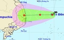 Áp thấp nhiệt đới có thể xuất hiện ngày mai, nhiều tỉnh thành mưa gió phức tạp