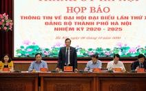 Đại hội Đảng bộ Hà Nội giới thiệu 81 người, bầu 71 người