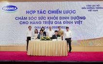 Vinamilk hợp tác quốc tế vì sức khỏe người Việt