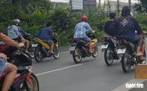 TP.HCM: Giải tán 370 xe máy tu tập gây rối nhiều tuyến đường
