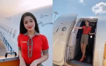 Bộ ảnh của hai thí sinh Hoa hậu Việt Nam là tiếp viên hàng không