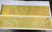 Bức thư pháp bút tích Mao Trạch Đông trị giá 300 triệu USD bị cắt đôi