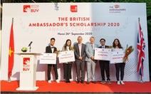 Học bổng Đại sứ Vương quốc Anh năm đầu tiên đã tìm được chủ nhân