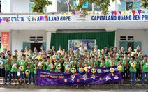 CapitaLand trao học bổng và quà cho hơn 1.400 học sinh